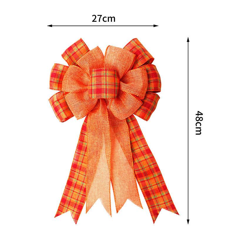 Pre made Christmas ribbon bow