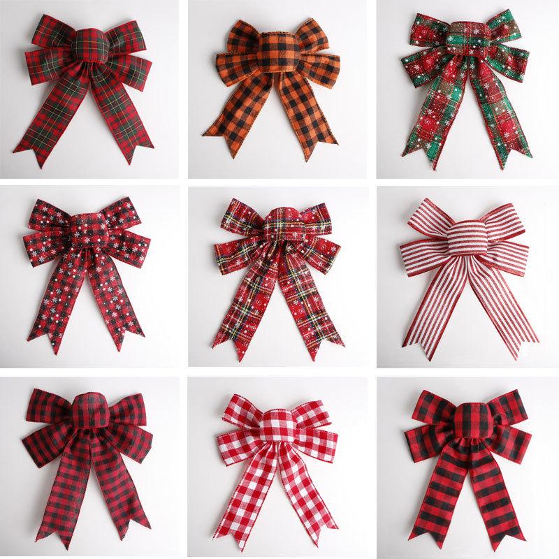 custom burlap ribbon bw