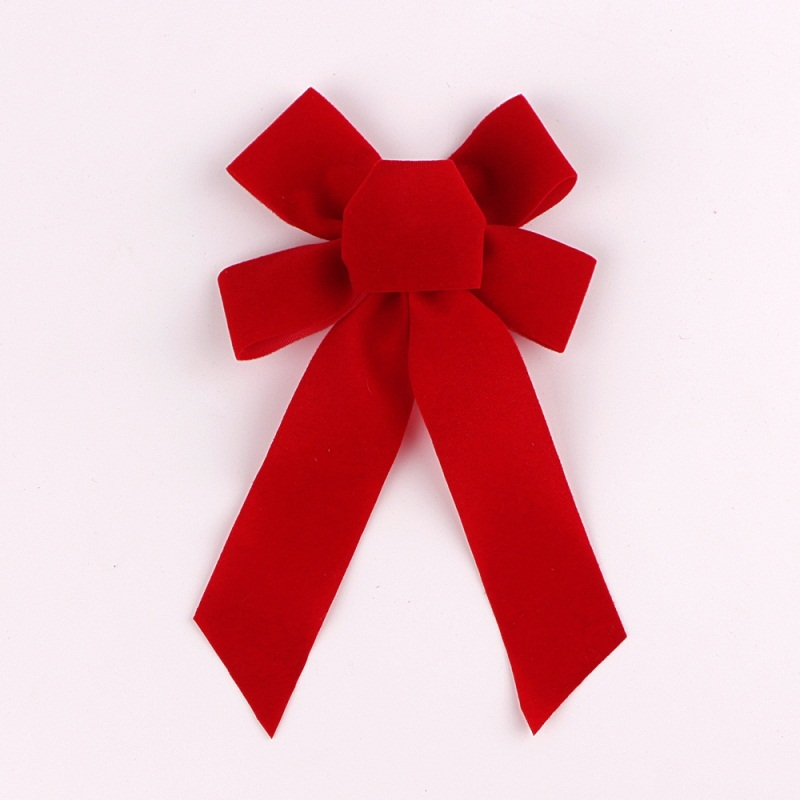 Red Velvet Bow Christmas Holiday Bows For Christmas Wreaths Decoration