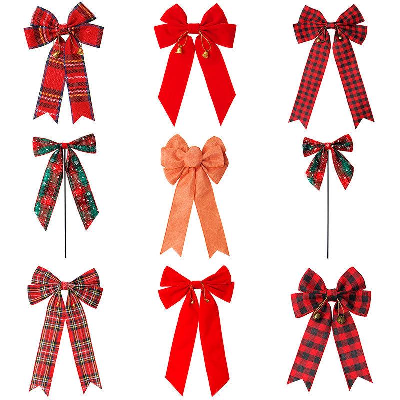 holiday decorative ribbon bow