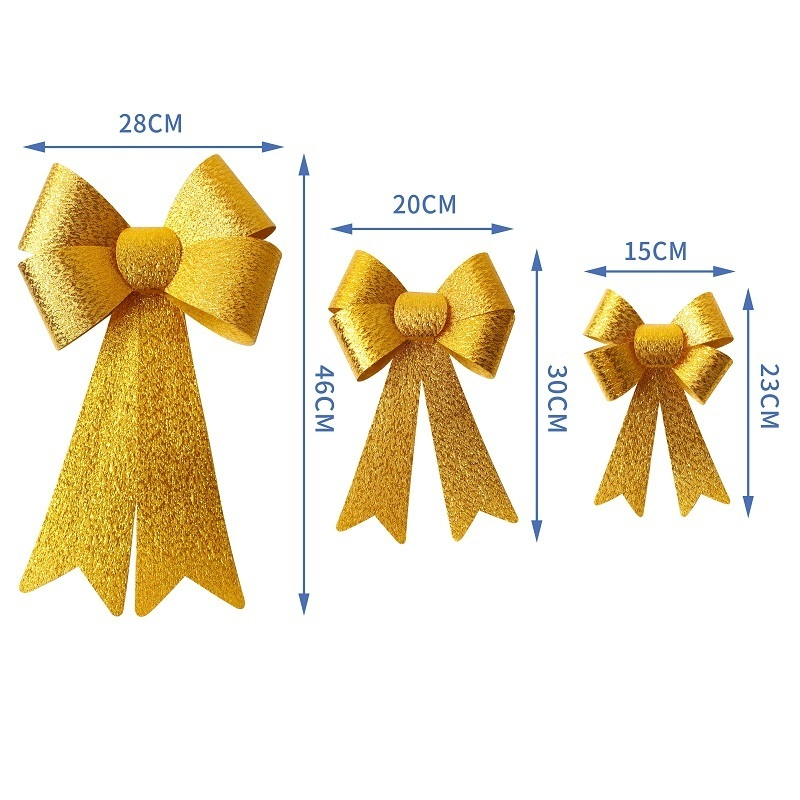 gold ribbon bow
