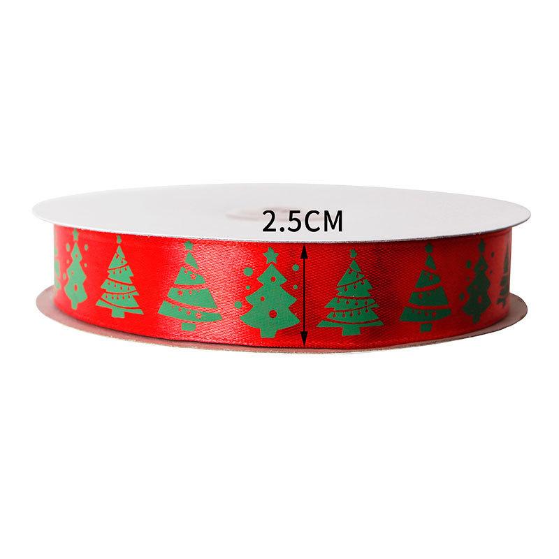 Christmas satin ribbon