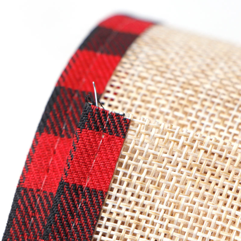 Plaid Wired Edge Ribbons