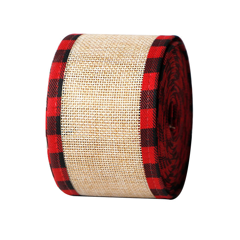 Burlap Fabric Craft Ribbon