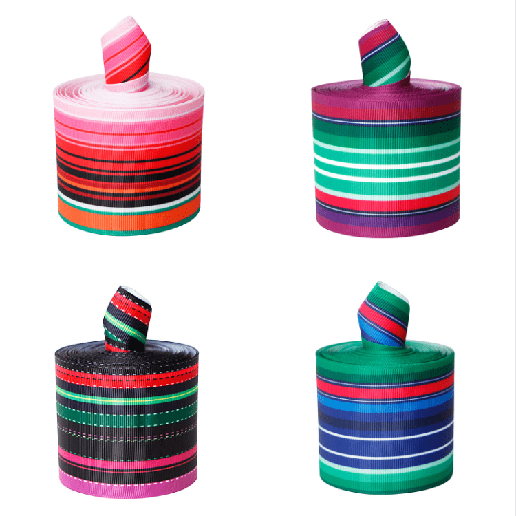 Mexican Style Printed Grosgrain Ribbon for Kids DIY Hairbow Craft