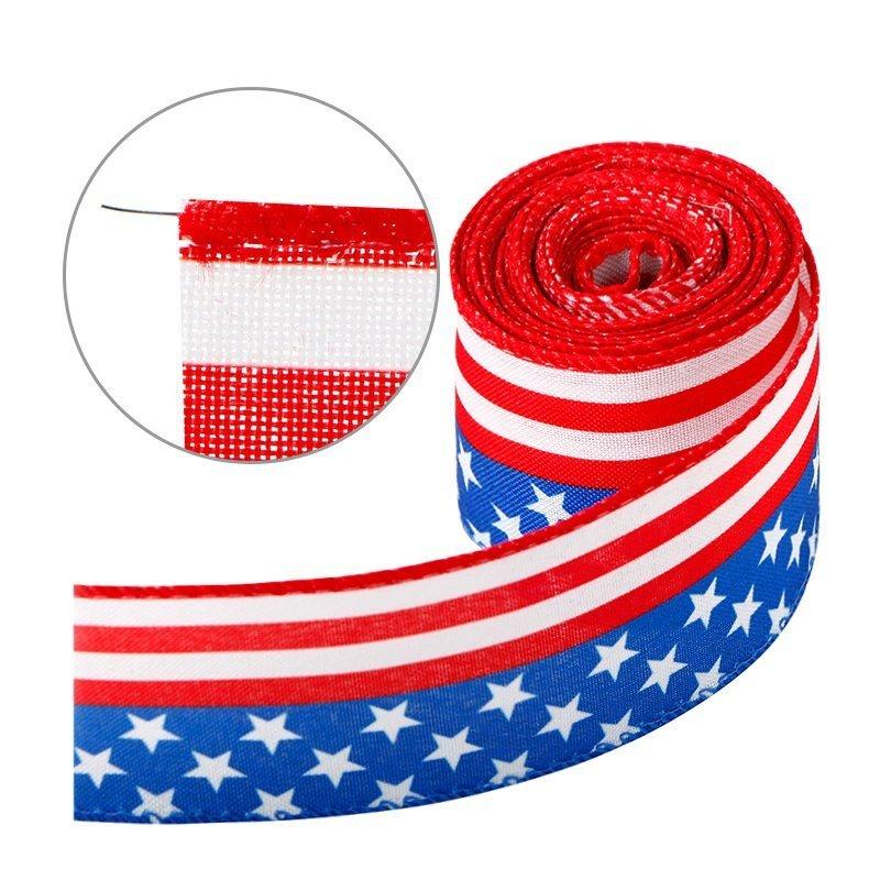 Stripe Patriotic Ribbons