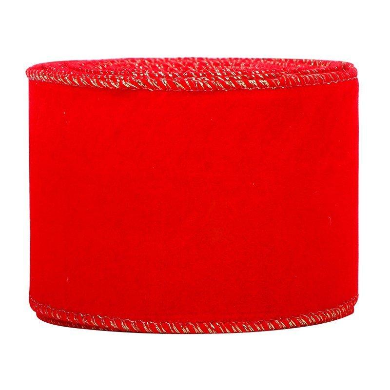 Red Velvet Christmas Ribbon