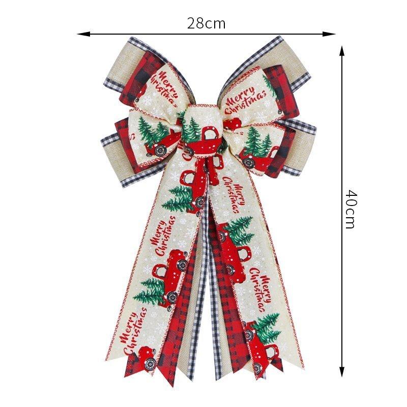Christmas Bows Decoration