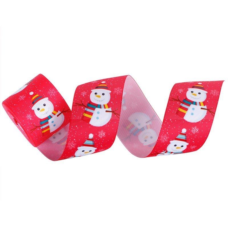 Christmas printed ribbons