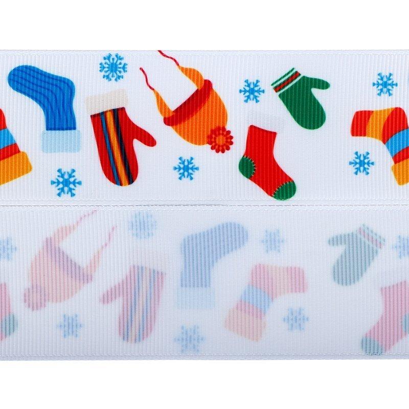 Christmas grosgrain ribbons