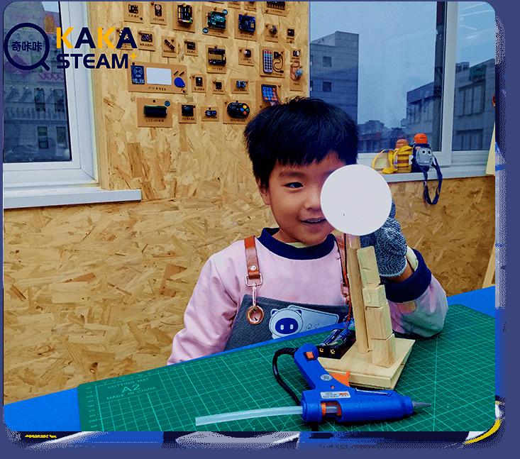 奇咔咔乐高机器人编程科学实验