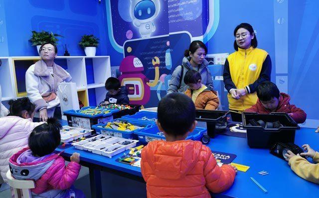 奇咔咔乐高机器人:少儿编程培训教育