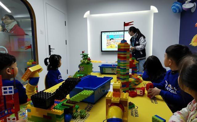 奇咔咔教育课堂展示