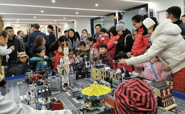 奇咔咔乐高教育机构作品展示