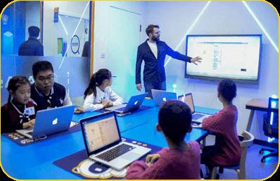 奇咔咔少儿编程教育课堂展示