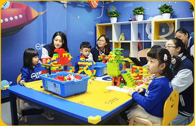 奇咔咔乐高机器人教育课堂展示