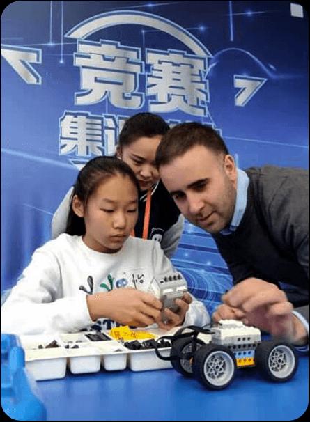 奇咔咔机器人竞赛课程展示