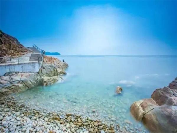 深圳背仔角沙滩