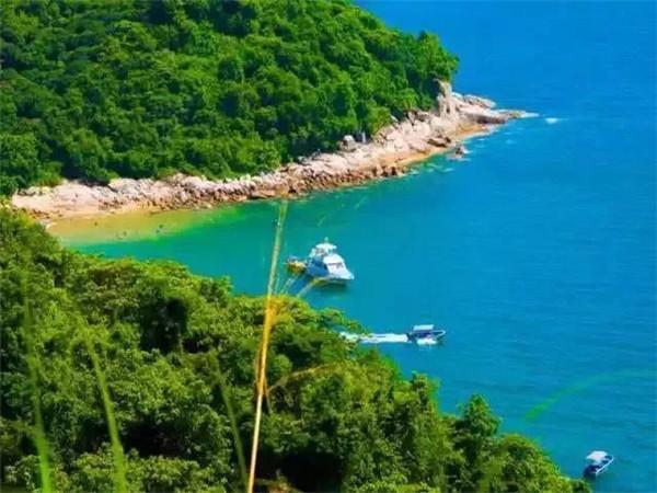 深圳鹅公湾海滩
