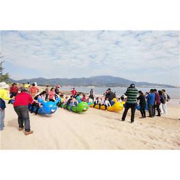 沙滩趣味运动会有哪些项目