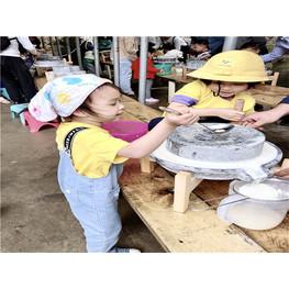 深圳农家乐亲子石磨豆浆