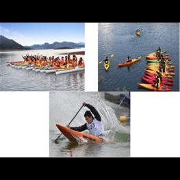 皮划艇比赛选大鹏皮划艇