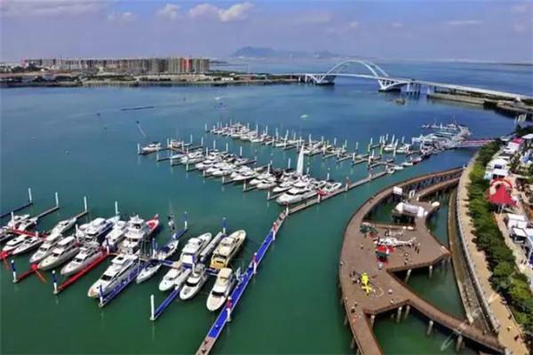 五缘湾游艇港