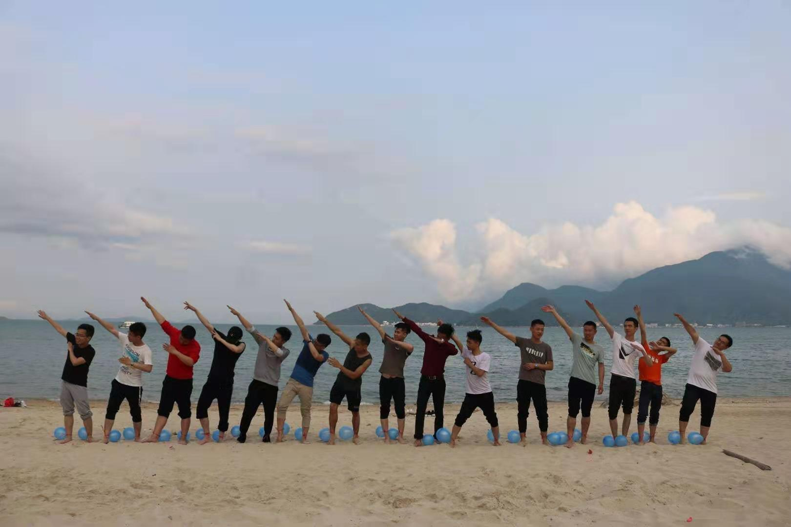 深圳沙滩运动会  大鹏沙滩游戏  公司团建运动会  公司沙滩趣味运动会