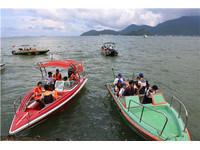 公司海上团建活动项目推荐—快艇出海兜风