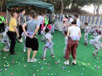 公司团建亲子户外活动游戏—网红抖球(电臀小达人)