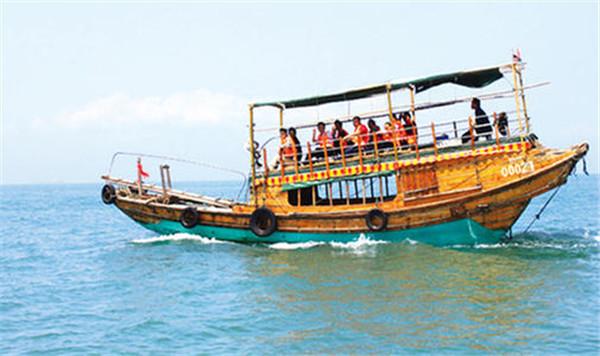 巽寮湾木船