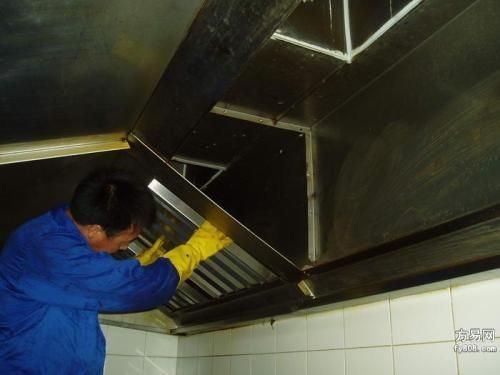 石家庄饭店油烟机清洗
