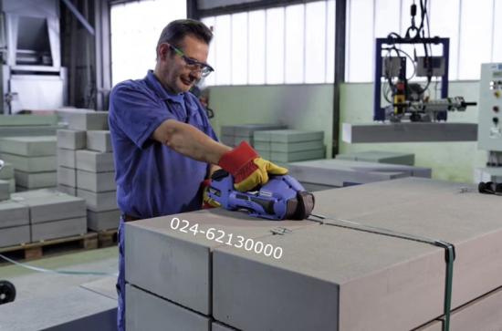 OR-T260手提式电动塑钢带打包机作业图片