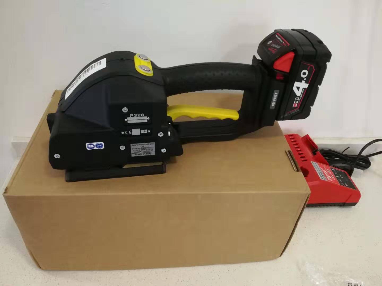 意大利原装进口FOMM P328电动塑钢带打包机实物图片