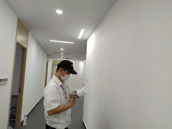 南昌珠市小学甲醛检测公司案例