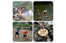 回忆童年,那些我们在小溪边做饭的日子