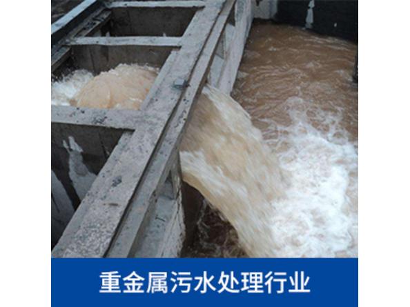 重金属污水处理行业