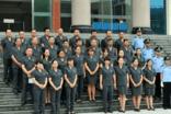 鎮沅縣人民法院舉行換裝新款制服換裝儀式