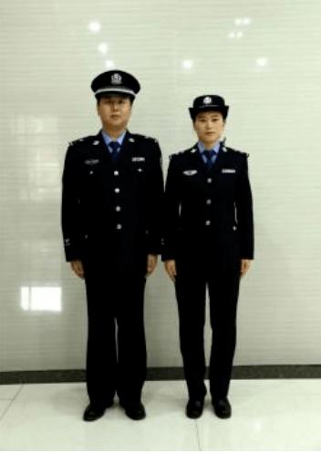 司法警察着常服