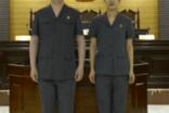法院审判制服/法袍/法警正确的着装规范