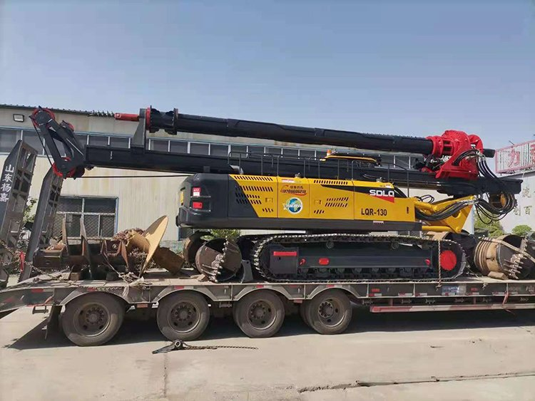Loading picture of machine lock drill rig
