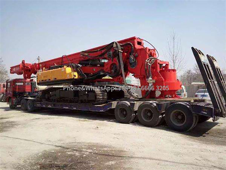 Transport pictures of rotary drilling rigs