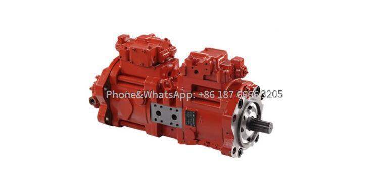 Rotary drilling rig hydraulic pump picture