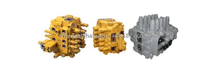 Rotary drilling rig control valve picture