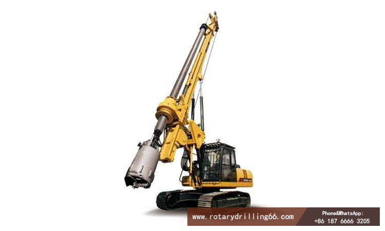 Picture of drilling rig