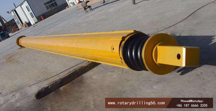 Friction type drill pipe picture