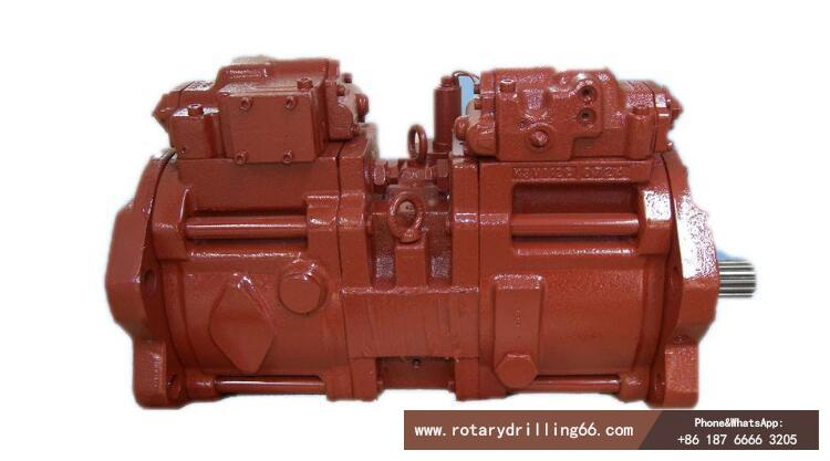 Hydraulic pump for pile drill
