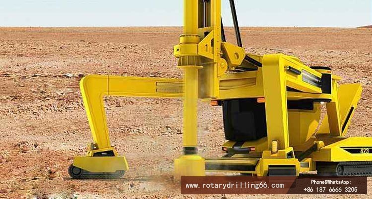 Picture of more intelligent rotary drilling rig