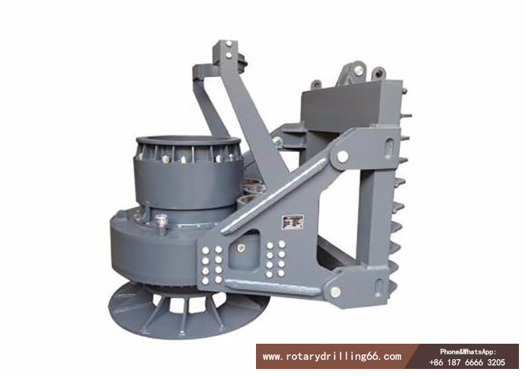 Rotary drilling rig power head picture