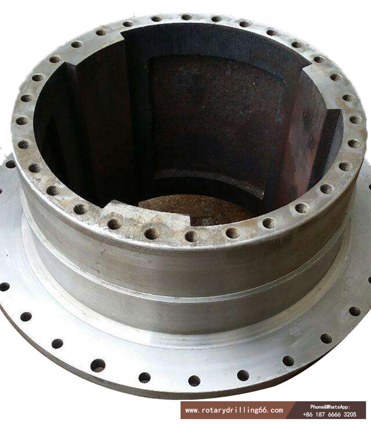 Rotary drilling rig power head drive sleeve picture